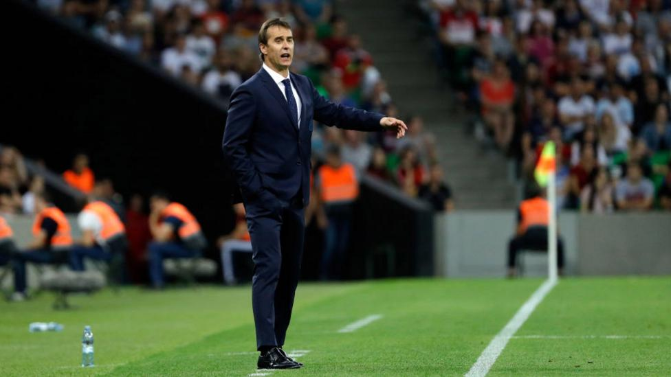 Spain head coach Julen Lopetegul's dismissal one day ahead of the World Cup tournament raises uncertainty over the national side's potential (Credit: Getty Images)