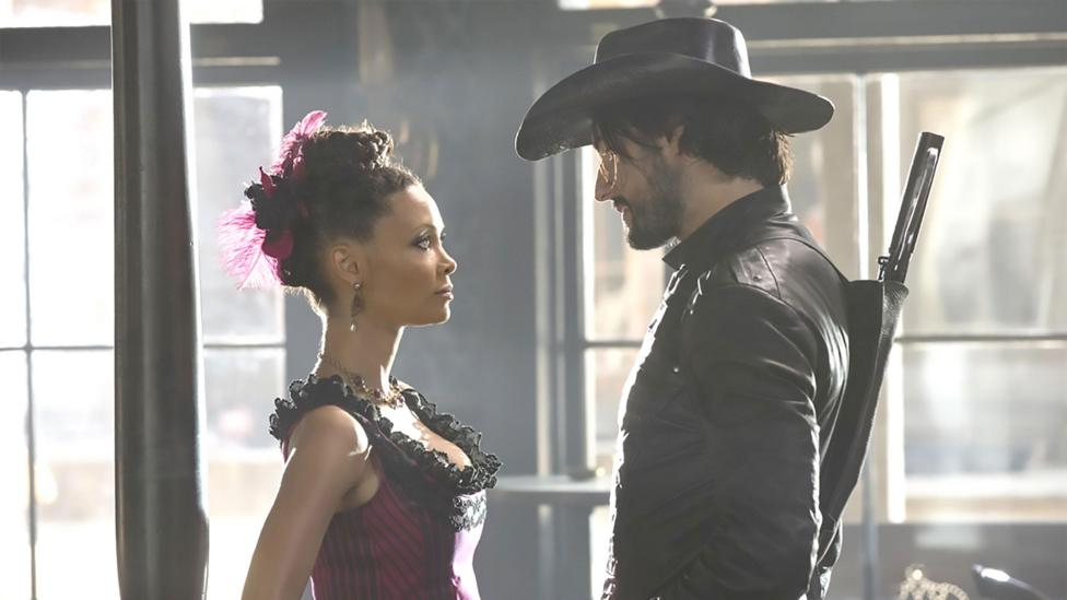 Science fiction - including the series Westworld - has long explored whether robots could become conscious (Credit: Alamy)