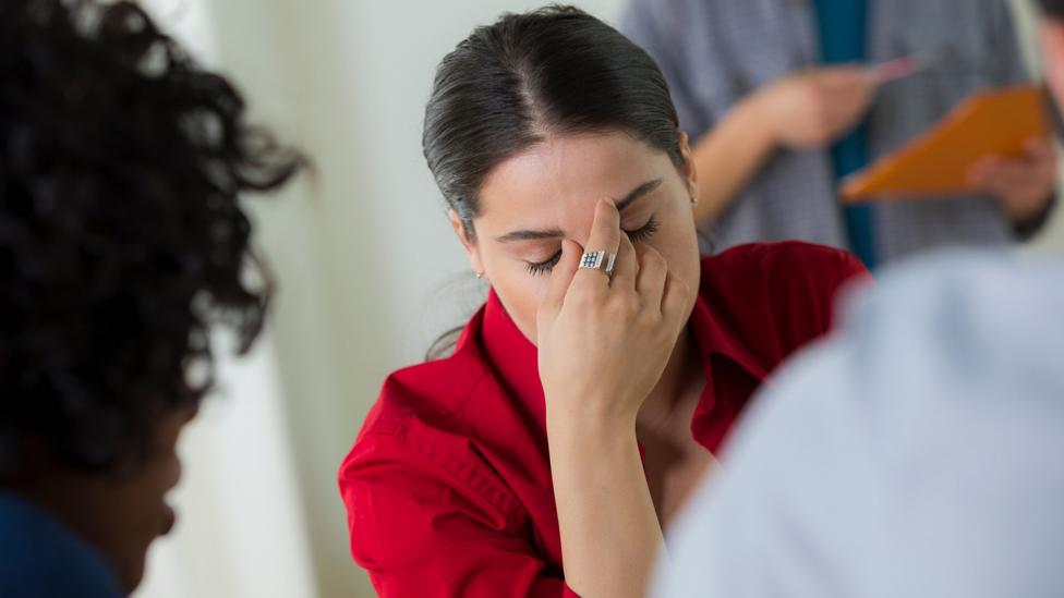 Stifling emotions at work can lead to long-term stress and job dissatisfaction (Credit: Alamy Stock Photo)