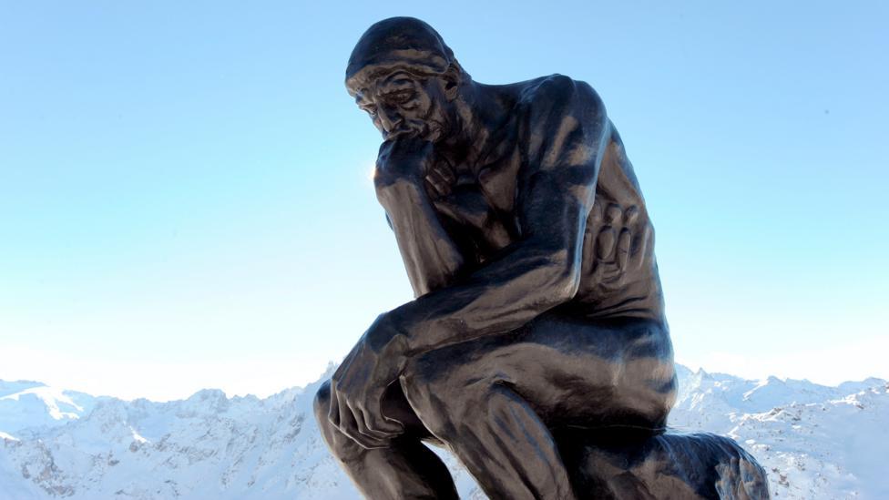 The Thinker, Rodin (Credit: Getty)