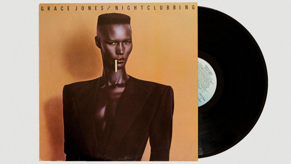 Grace Jones sported an androgynous look on the iconic cover of the 1981 album Nightclubbing (Credit: Alamy)