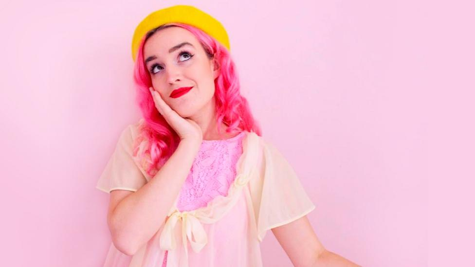 For Ellie Medhurst, dressing flamboyantly is integral to her identity, and she wears only pink
