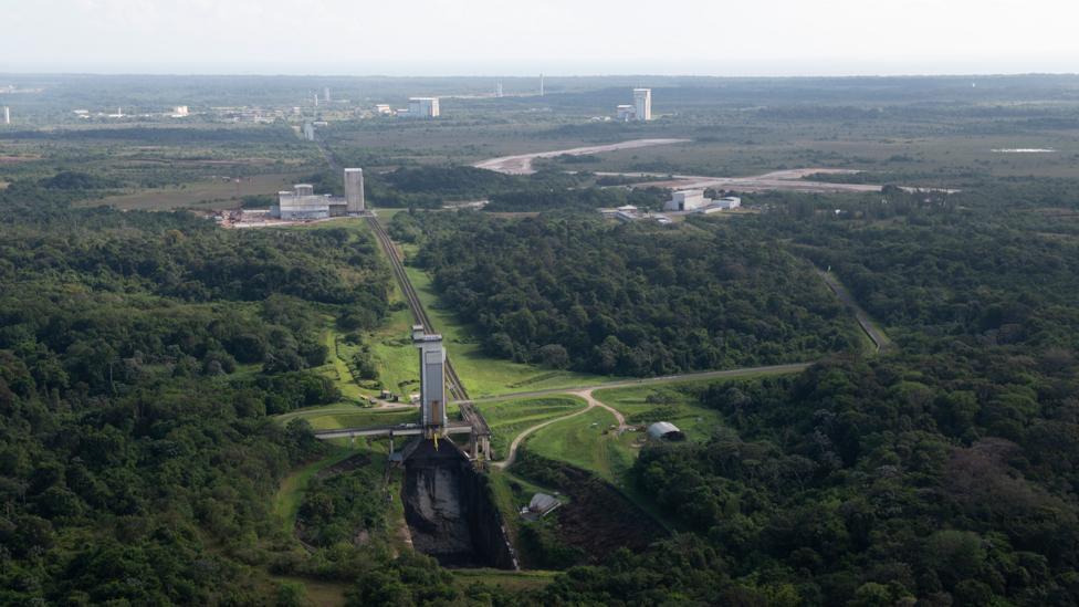 Jungle launch pad (Credit: ESa)