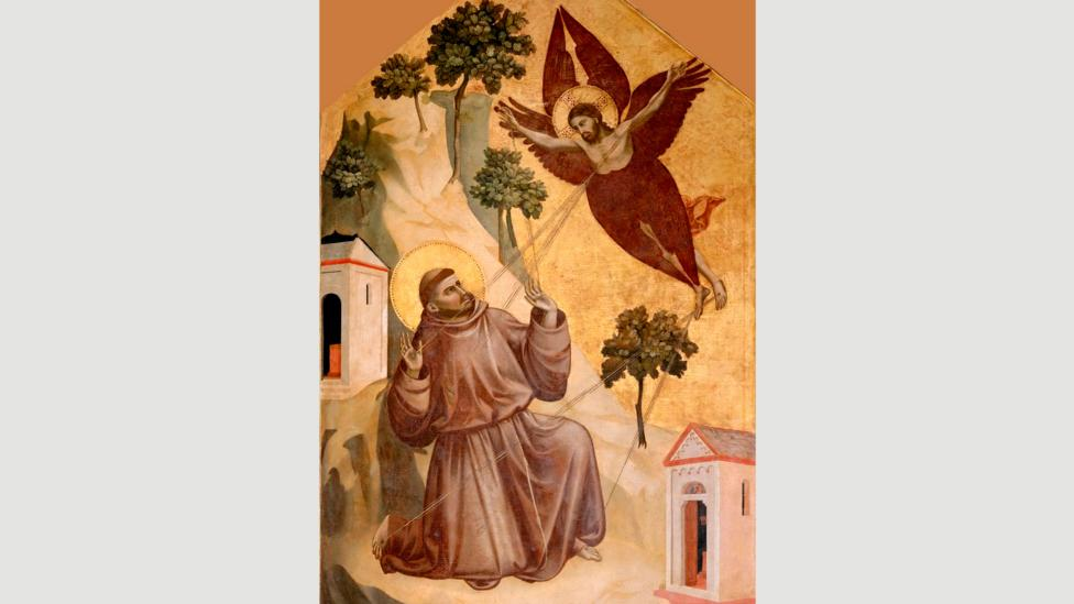 Stigmatisation of St Francis by Giotto, 1295-1300 (Credit: Alamy)