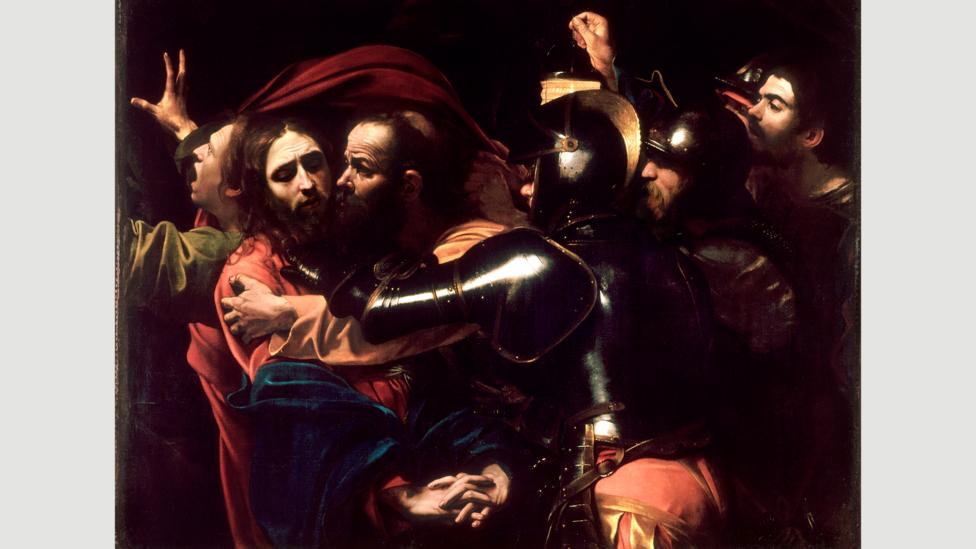 The Taking of Christ by Caravaggio, 1602 (Credit: Alamy)