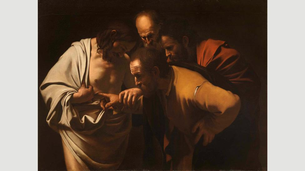 The Incredulity of Saint Thomas by Caravaggio, 1600-1601 (Credit: Getty Images)
