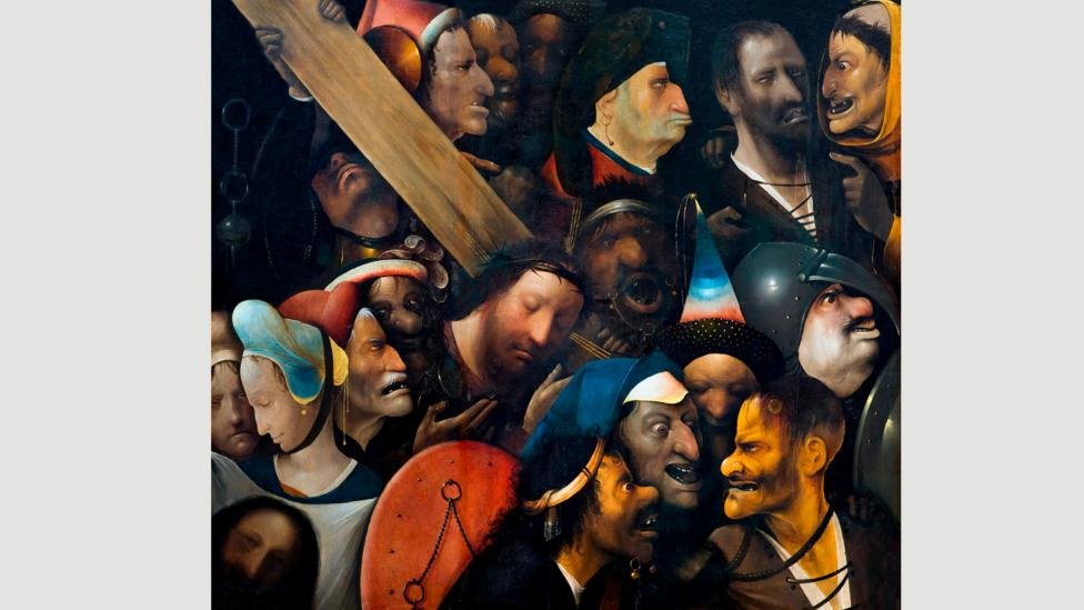Christ Carrying the Cross, by Hieronymus Bosch, circa 1510-16 (Credit: Alamy)