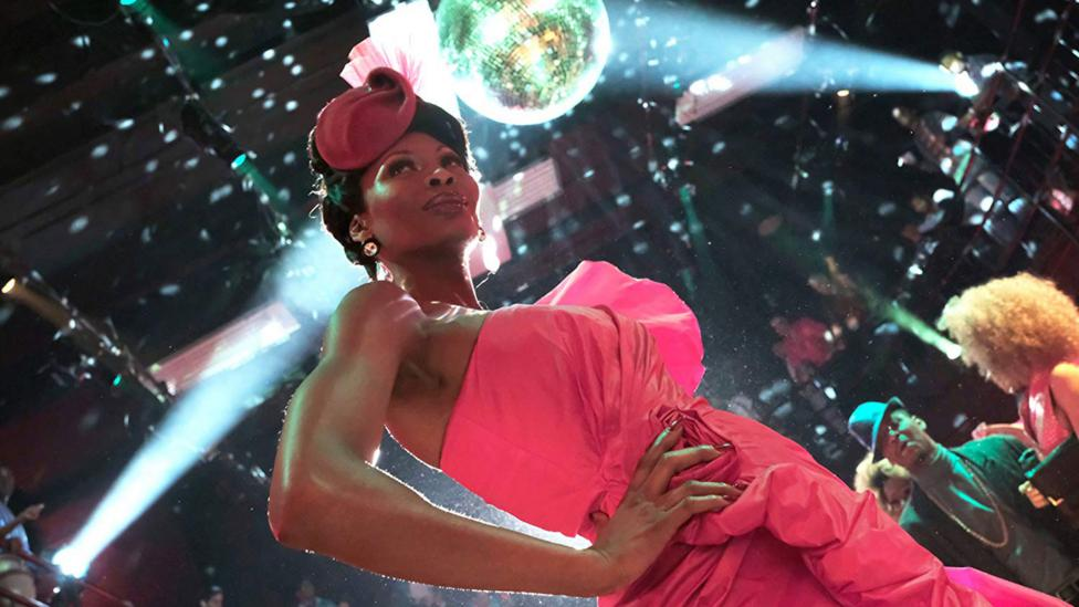Pose – starring Dominique Jackson – reveals the energy and style of New York's underground drag balls in the 1980s (Credit: FX Networks)