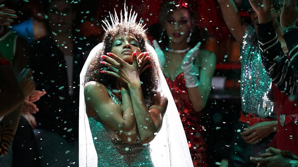 Co-created by Glee's Ryan Murphy and starring Indya Moore, Pose has just been renewed for a second season in 2019 (Credit: FX Networks)