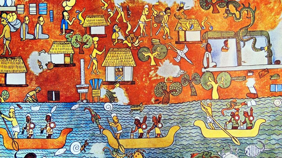 The rare blue the Maya invented - BBC Culture