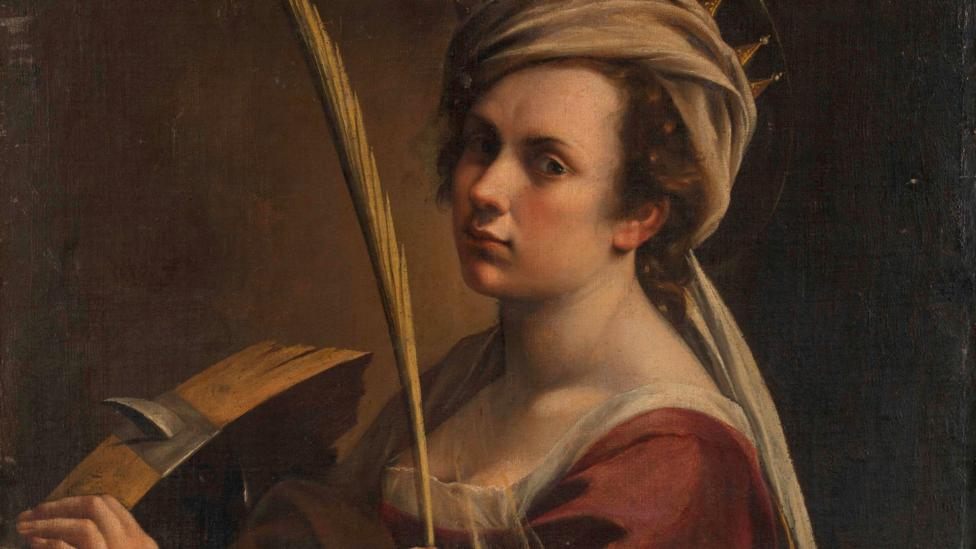 Artemisia Gentileschi, Self-Portrait (Credit: National Gallery London)