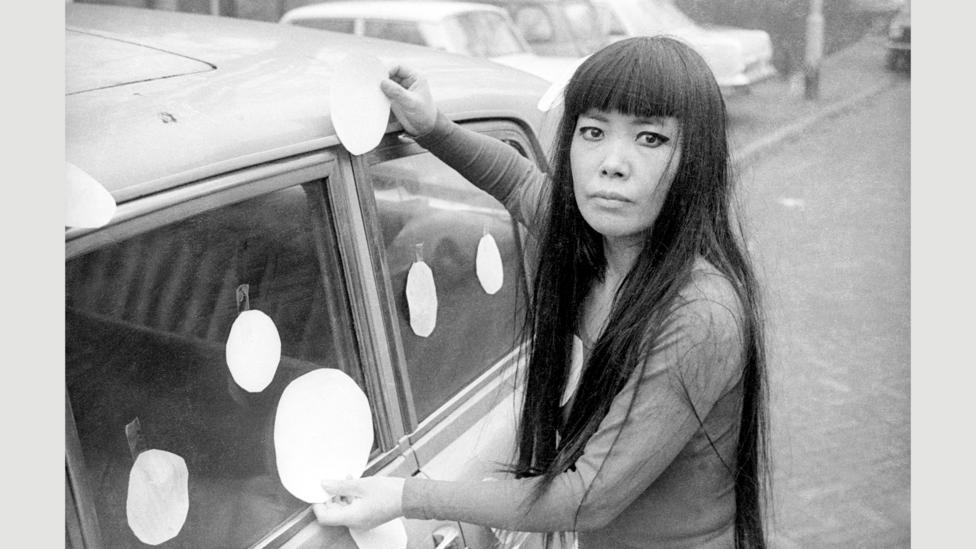 In her early years, Kusama was overlooked, watching as her male peers won fame for her ideas (Credit: Harrie Verstappen)