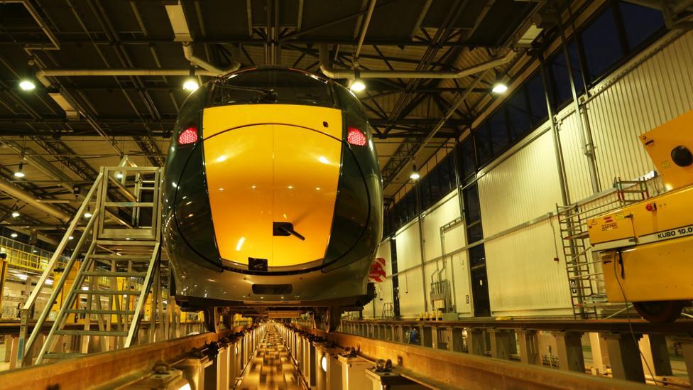 New Hitachi train (Credit: Stephen Dowling)