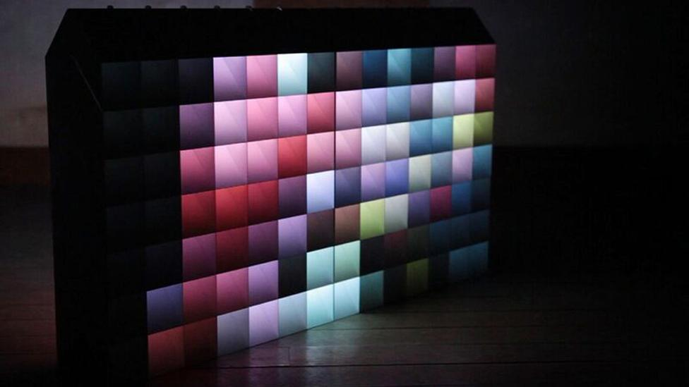 The award-winning Pixel by Hiroto Yoshizoe and Shunsuke Watanabe is an ambient light that can also be used as a modular partition