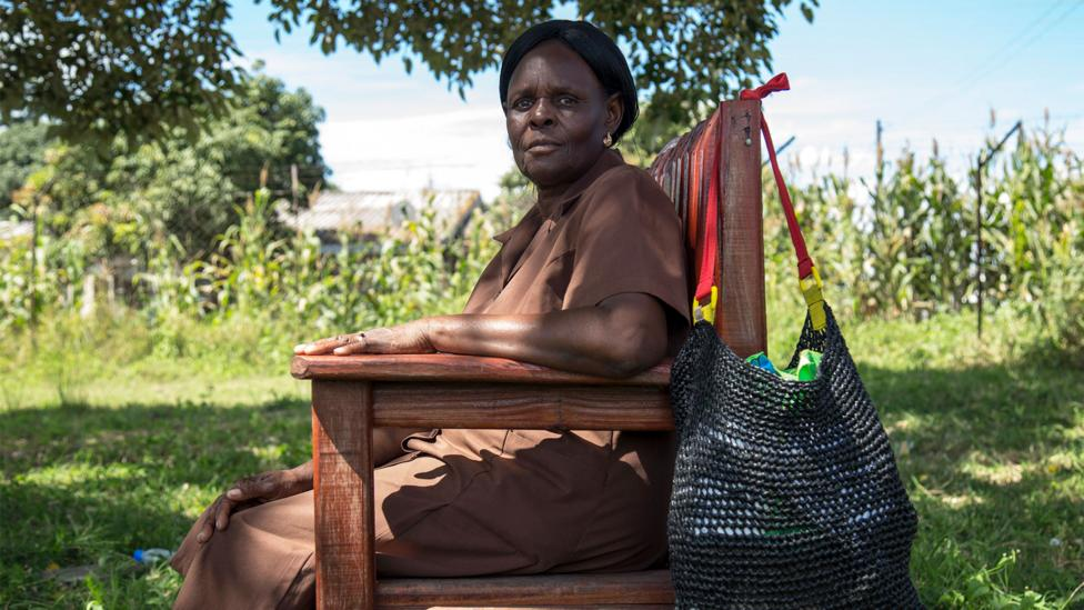 The grandmother volunteers come to the project with no medical training, but they get results (Credit: Cynthia R Matonhodze)
