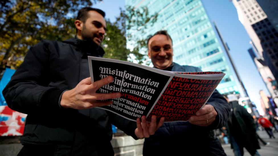 One study found that when people were given a factual brief, followed by a fake one, the misinformation completely neutralised the correct data (Credit: Getty Images)