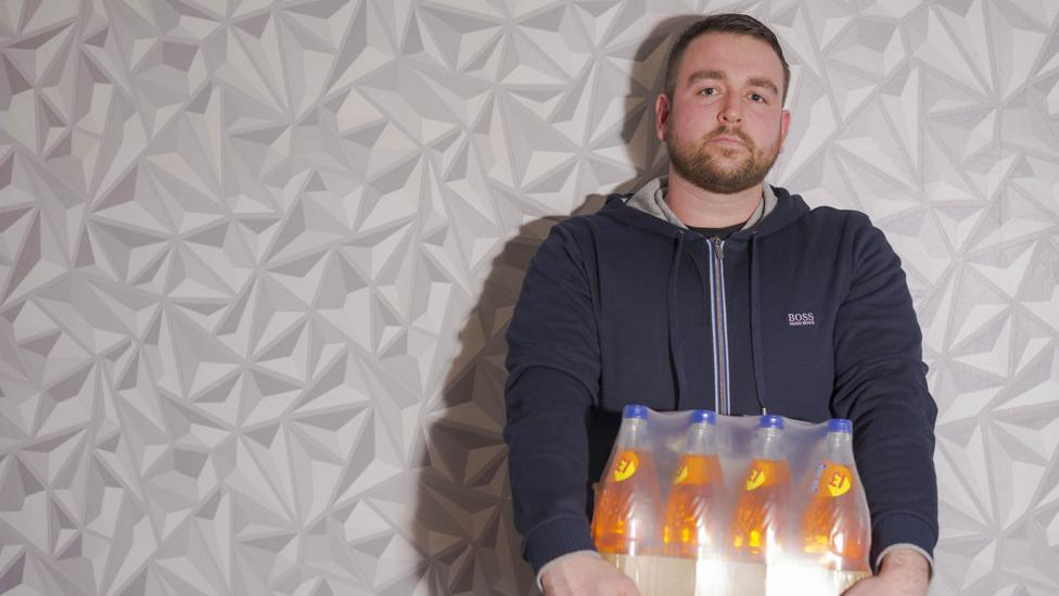 'There was adrenaline,' Ryan Allen took to the streets to protest over the change to the recipe of his favourite fizzy drink (Credit: Ryan Allen)