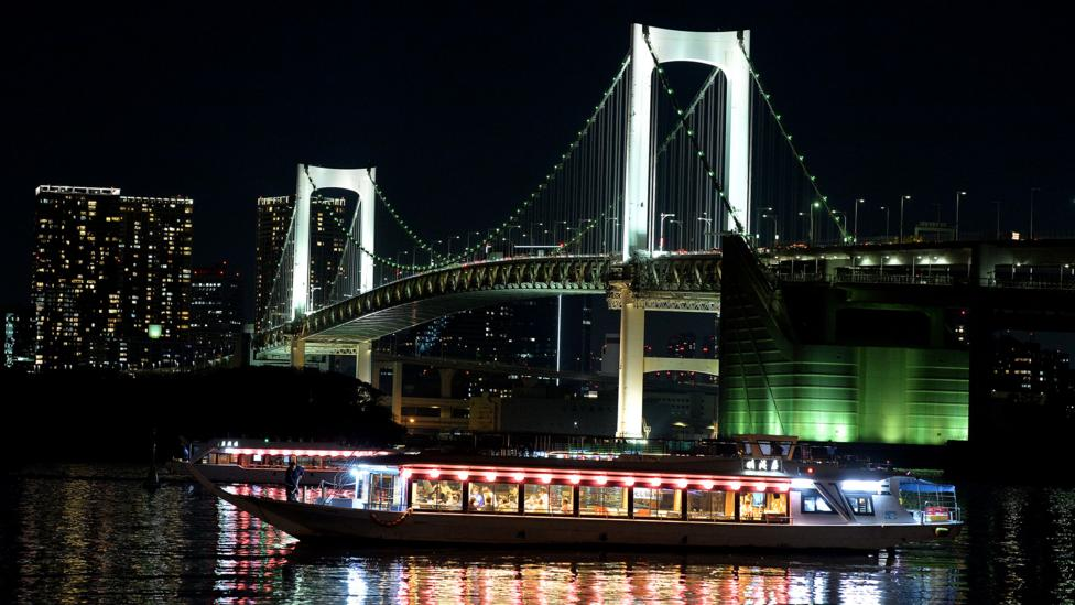 Tokyo's rivers - so beautiful for much of the year - can pose a danger in times of heavy rainfall (Credit: Getty Images)