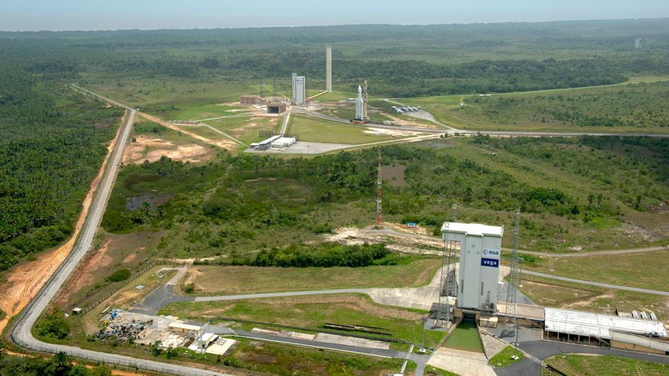 Guiana Space Centre (Credit: Esa)