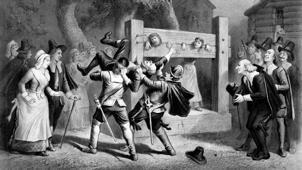 Salem's residents denounced more than 200 people during the infamous witch trials (Credit: Alamy)