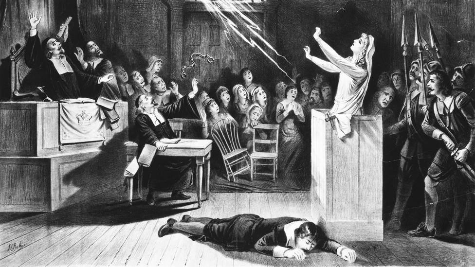 The symptoms of anti-NMDAR include delusions, paranoia, insomnia, and seizures - all of which were present in the Salem 'witches' (Credit: Alamy)