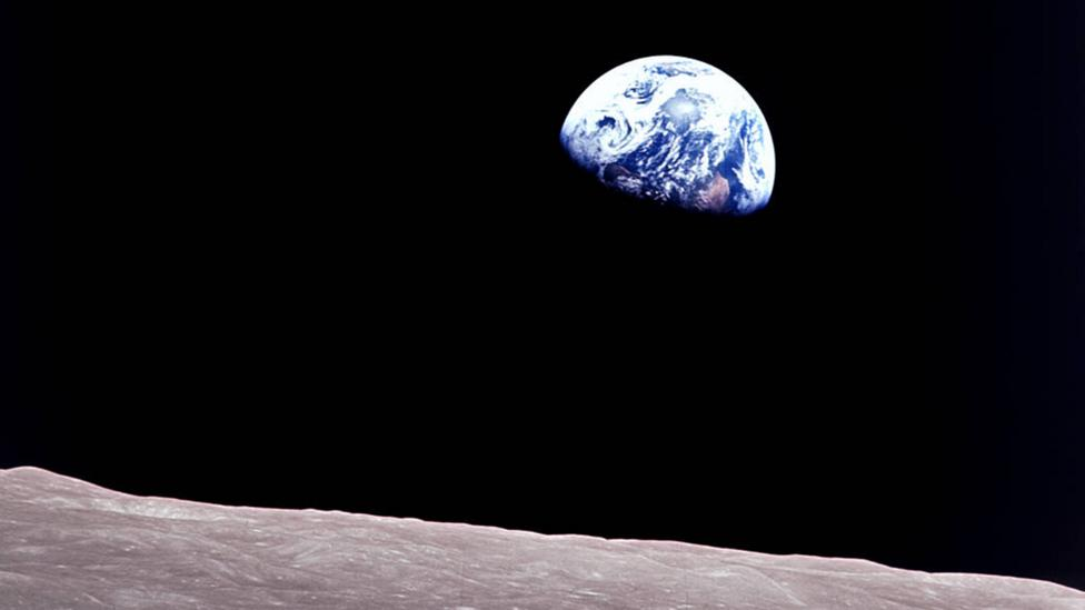 Earthrise (Credit: Nasa)