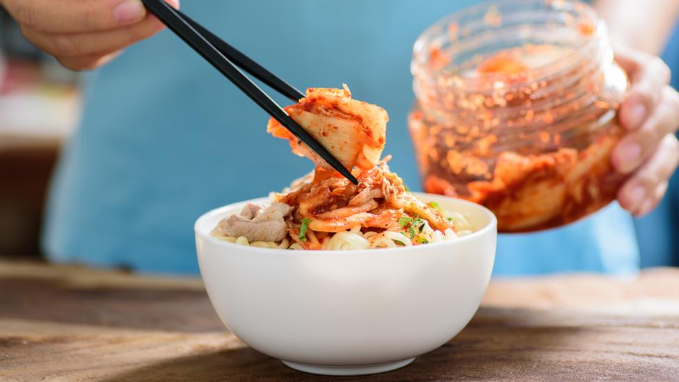 Fermented foods like the Korean staple kimchi are thought to aid gut health, but there is little scientific research to back it up (Credit: Getty Images)