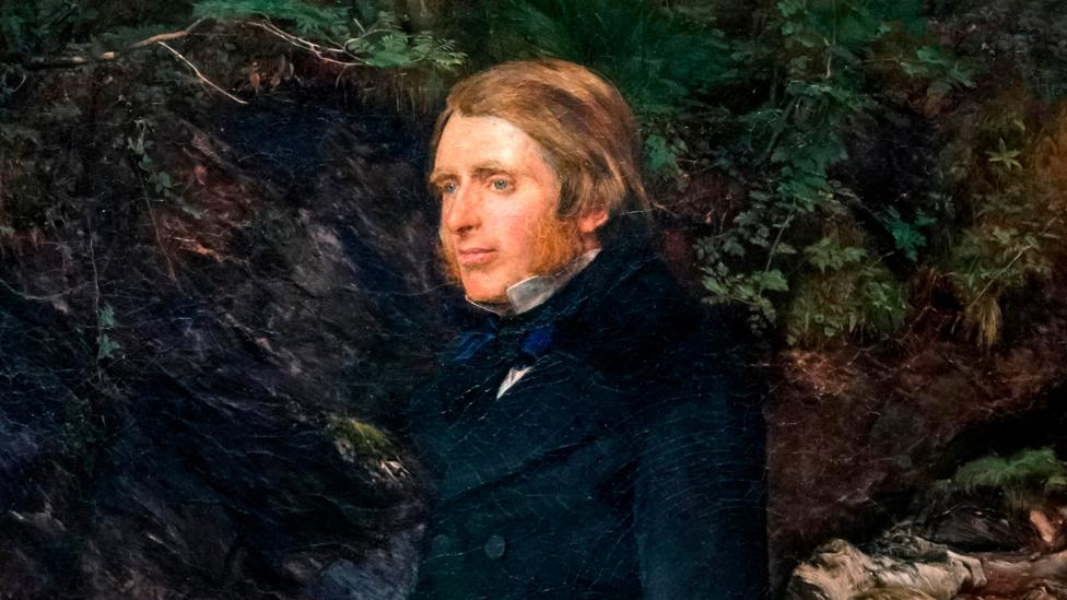 John Ruskin by John Everett Millais (Credit: Alamy)
