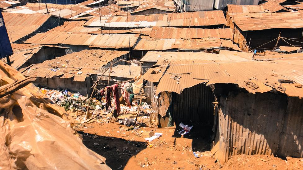 Slums like Kibera in the Kenyan capital Nairobi have seen settlements bulldozed rather than authroties deal with development issues (Credit: Getty Images)