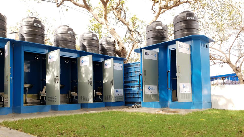 Garv's new toilets is an attempt to deal with India's chronic shortage of public conveniences (Credit: Getty Images)