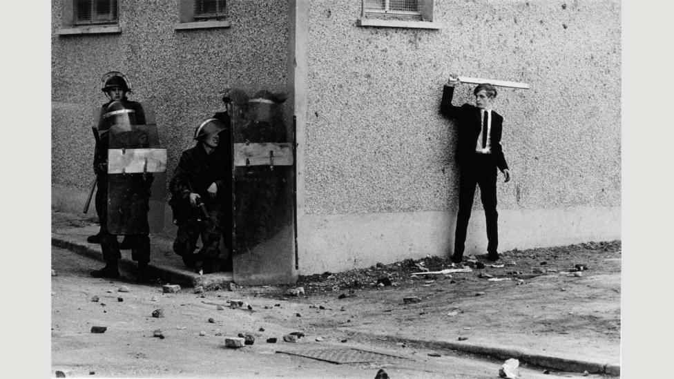 "Northern Ireland, The Bogside, Londonderry 1971: ""It was inconceivable at the time that the violence would continue unabated for another 25 years"" (Credit: Don McCullin/Tate)"