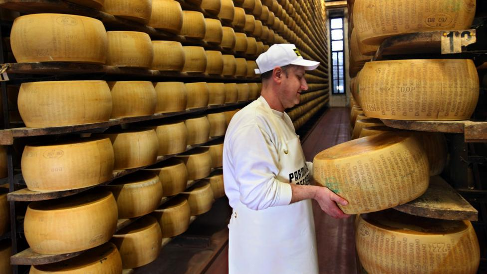 Hard cheeses like parmigiano-reggiano can have little to no lactose (Credit: Getty)