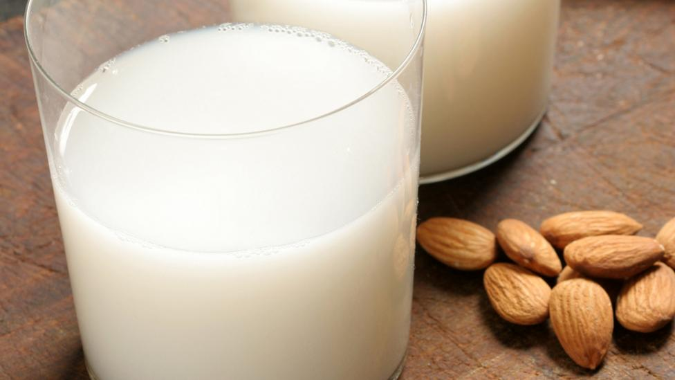 Alternative milks like almond milk don't normally have the same micronutrients as dairy (Credit: Getty)