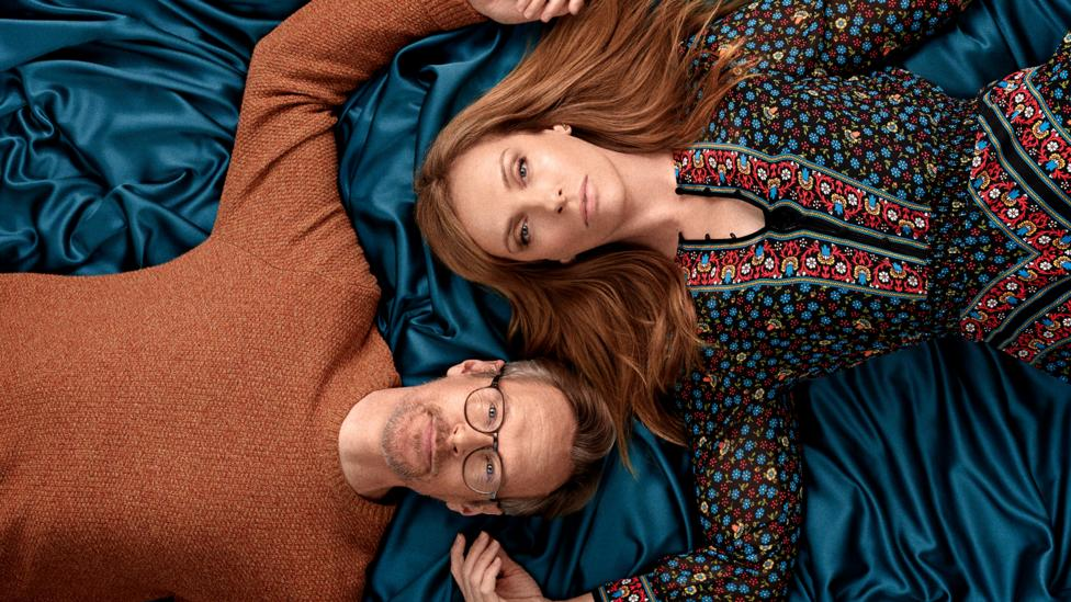 A co-production between the BBC and Netflix, Wanderlust starred Toni Collette and Steven Mackintosh as a married couple questioning monogamy (Credit: BBC)