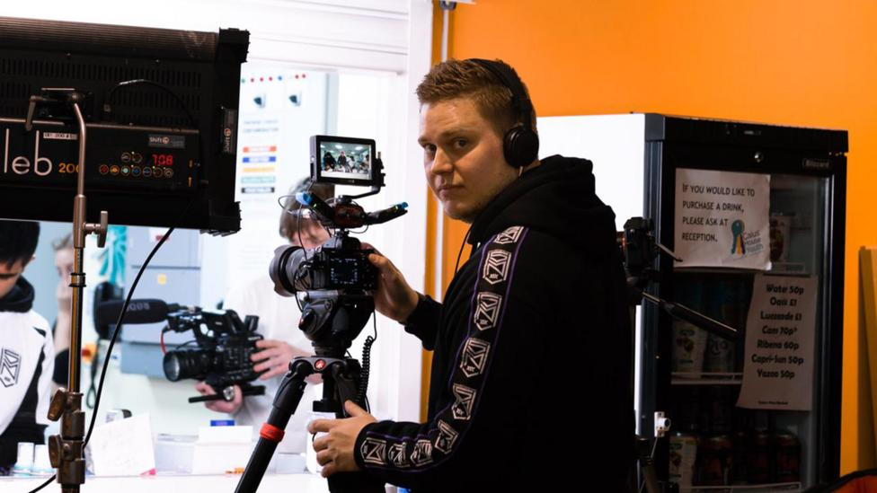 YouTube's stars need to constantly make videos to stay ahead of the algorithm. It's created a lucrative opportunity for people like Konstantin Ermakov (Credit: Konstantin Ermakov)