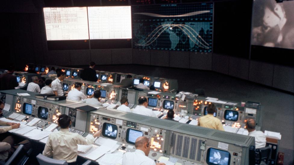 Mission Control (Credit: Nasa)