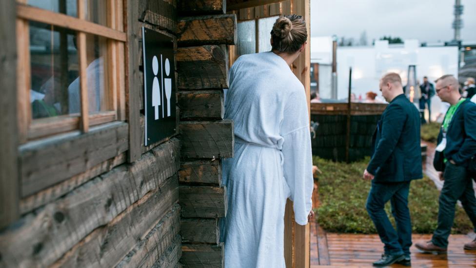 Slush Sauna Village