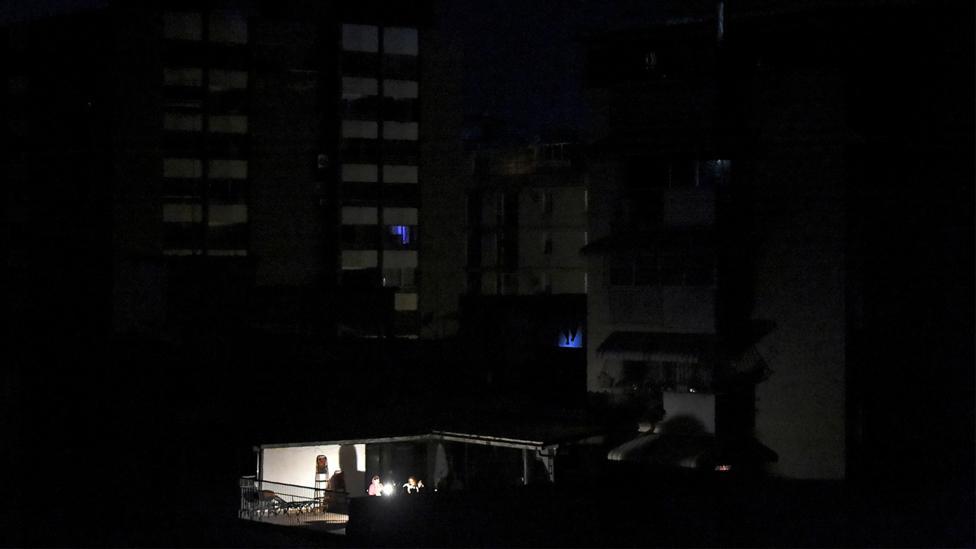 Blackout in Venezuela (Credit: Getty Images)