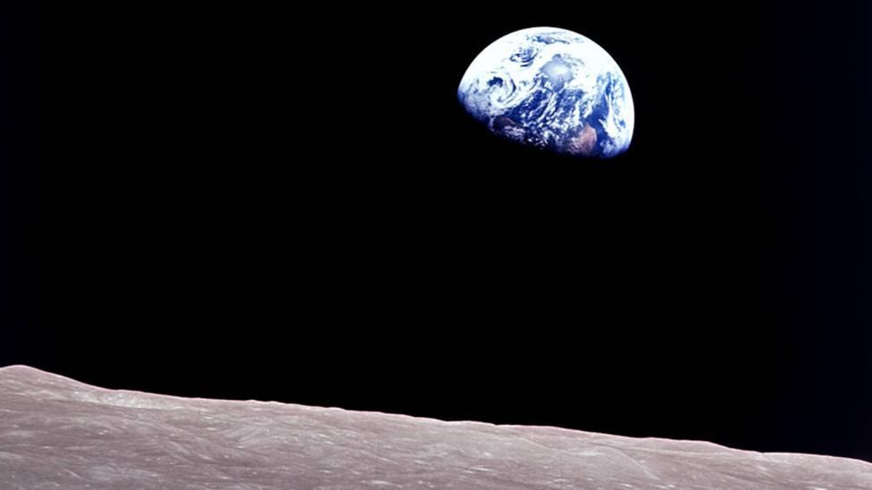 Apollo Earthrise (Credit: Nasa)