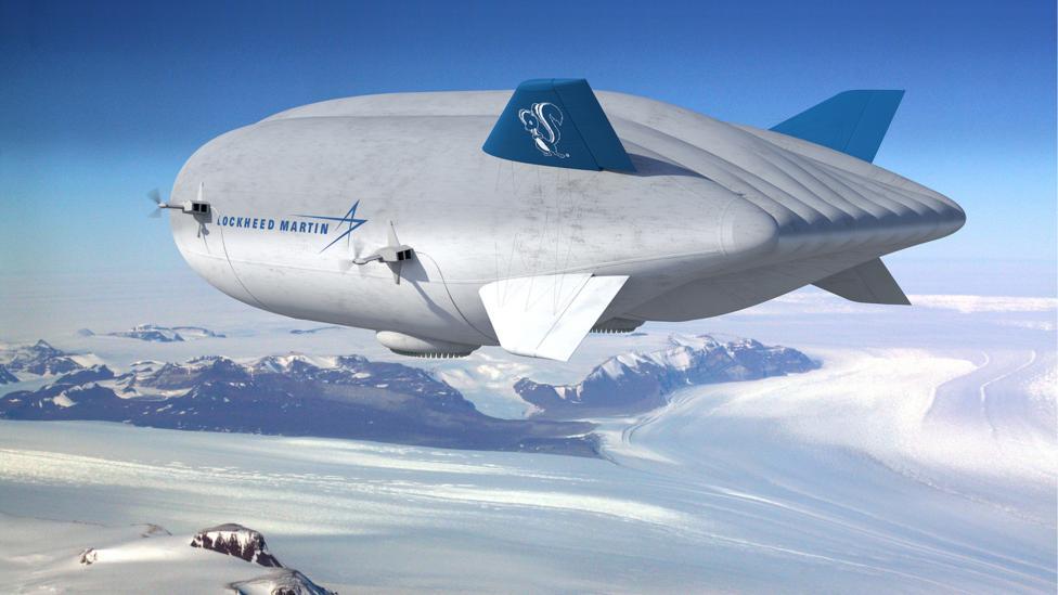 Lockheed Martin's airship concept (Credit: Lockheed Martin)