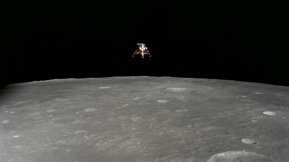 Apollo 12 lander (Credit: Nasa)