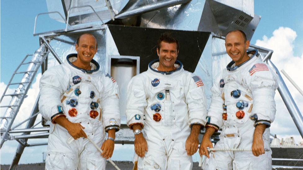Apollo 12 crew portrait (Credit: Nasa)