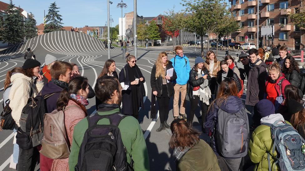 Students with David Pinder