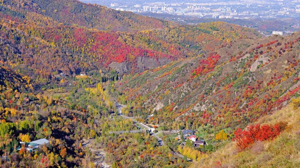 Countryside near Almaty, Kazakhstan (Credit: Getty Images)