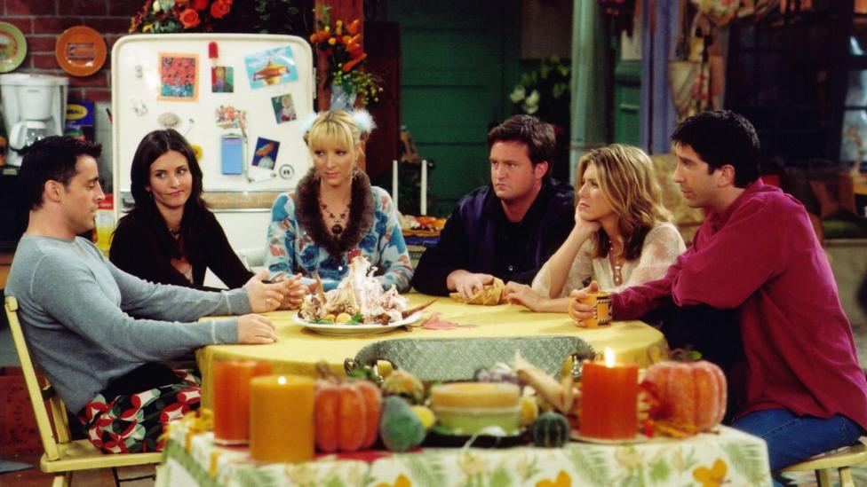 Behrens sees reciprocal amae in TV shows like Friends (Credit: Alamy)