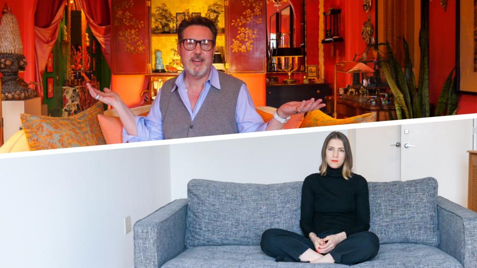 Inside the homes of maximalists and minimalists