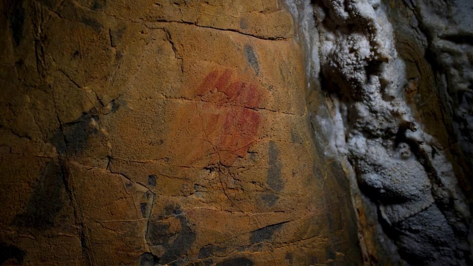 Cave paintings found in mainland Spain (Credit: Getty Images)