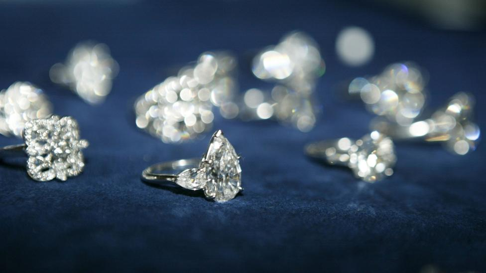 Demand for diamonds is declining in many parts of the world at a time when the industry has an oversupply of the gemstones (Credit: Getty Images)