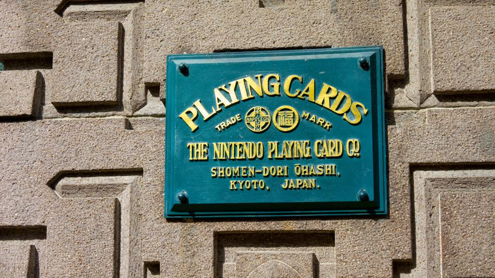 Many shinise are recognised brands around the world. Nintendo, headquartered in Kyoto, was founded back in 1889 and specialised in making playing cards (Credit: Alamy)