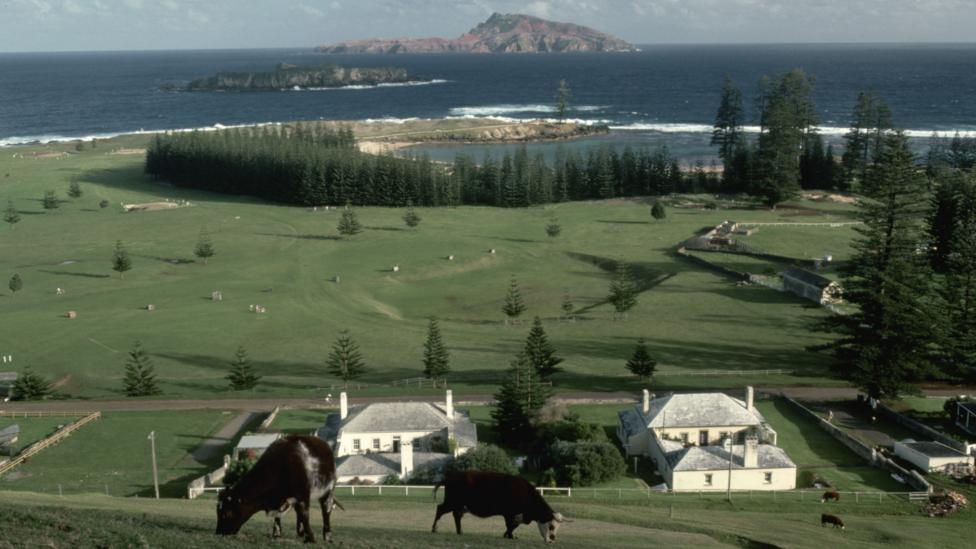 Isles such as Norfolk Island, Australia, are an ideal, self-contained place to measure people's carbon emissions (Credit: Getty Images)